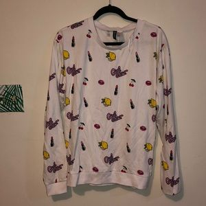 H&M girl crew sweatshirt